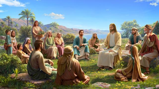 प्रभु यीशु मसीह लोगों के साथ संगति करता है