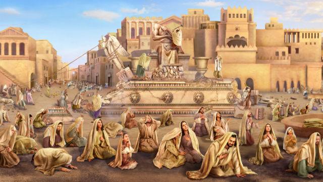 नीनवे-वासी परमेश्वर के प्रति पश्चाताप करते हैं