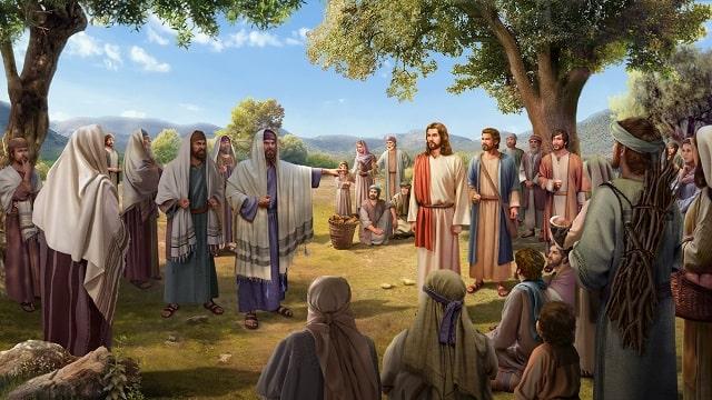 फरीसी लोगों को यीशु का उपदेश सुनने से रोकते हैं