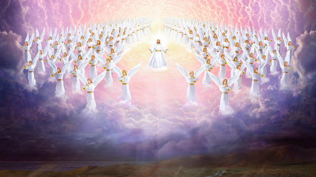 प्रभु यीशु मसीह बादलों के साथ आनेवाला है