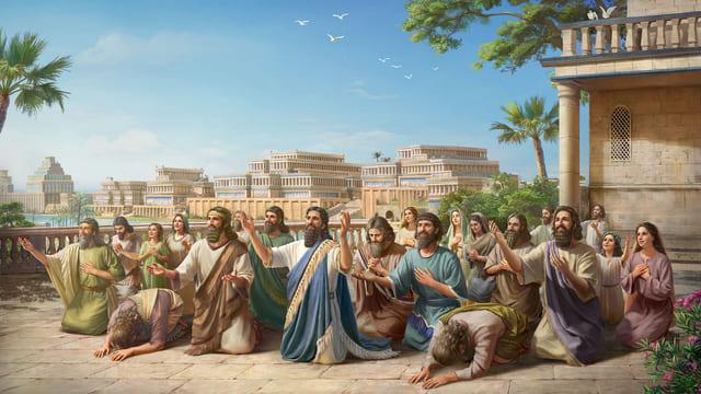 नीनवे के लोग परमेश्वर में विश्वास करते हैं और परमेश्वर की दया पाते हैं